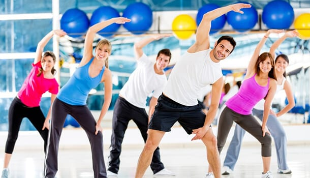 Aerobics Boosts your self confidence