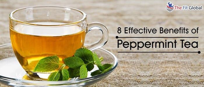 Peppermint tea benefits skin