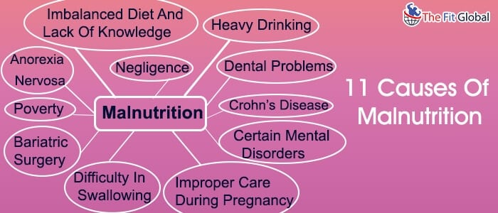 11 Causes Of Malnutrition