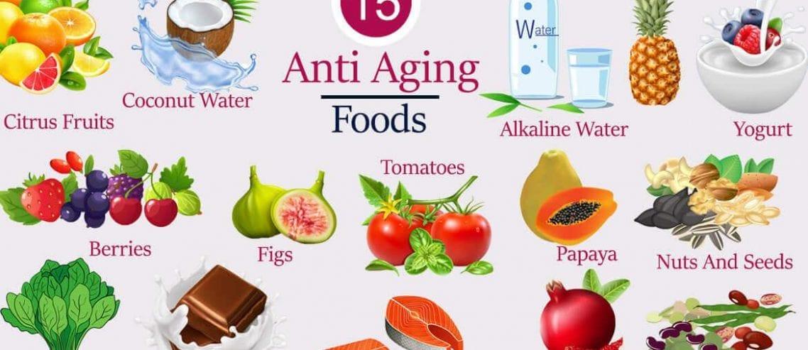 15 anti aging foods