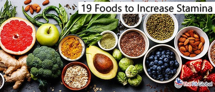 19 foods to increase stamina