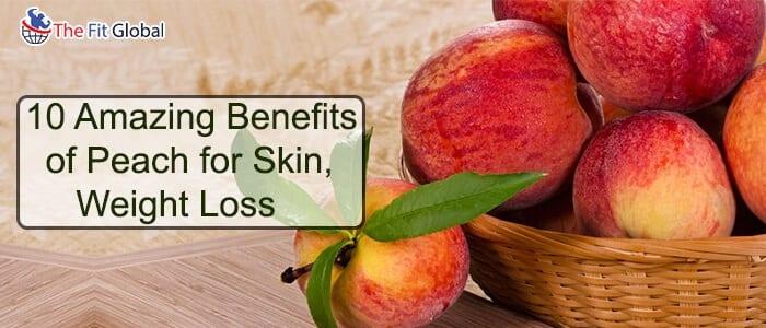 benefits of peach