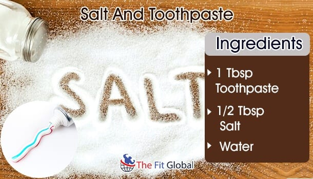 salt And Toothpaste