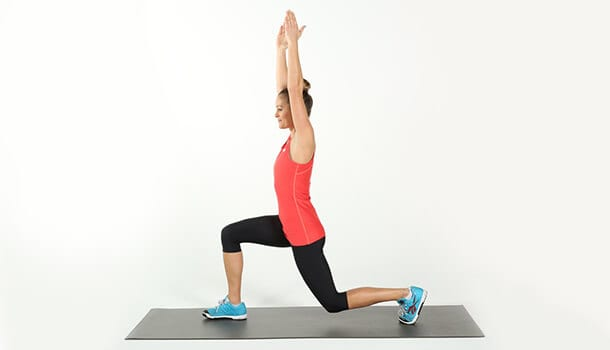 Perform Reverse Lunges