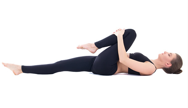 Pavanamukthasana Or The Wind Relieving Pose