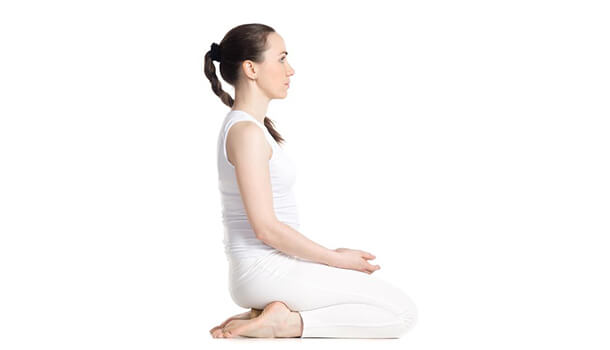 Vajrasana Or The Diamond Pose
