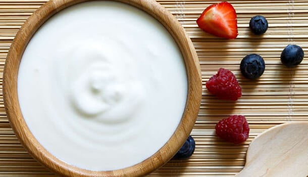 Yogurt - best food for flu