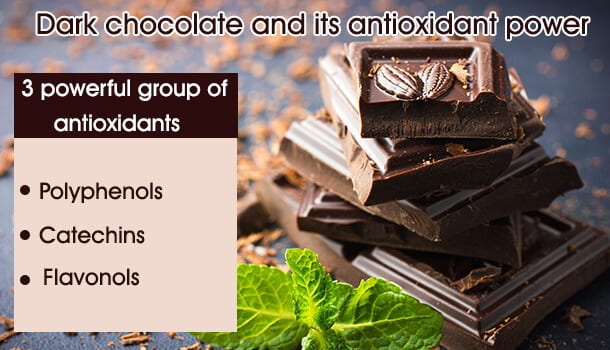 dark chocolate antioxidant power