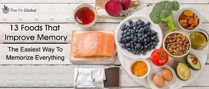 foods to improve memory