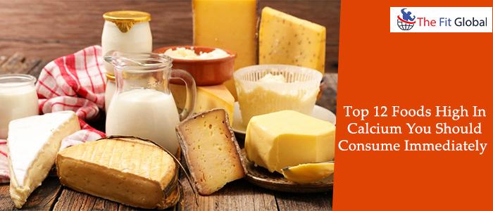 12 foods that are high in calcium