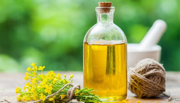 Canola oil - omega 3 fatty acids