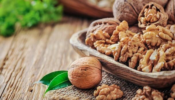 Walnuts - omega 3 fatty acids