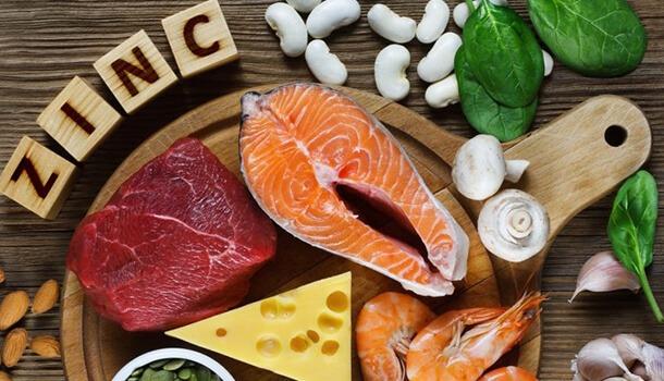 Consume Zinc rich foods