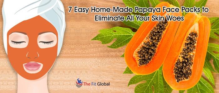 Papaya Face Packs for skin