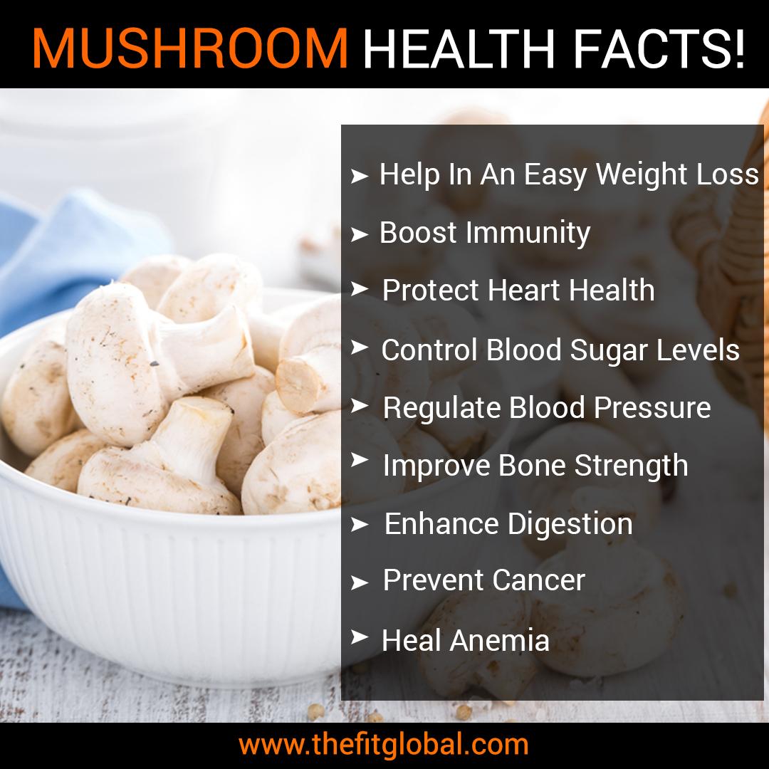 Mushroom health facts
