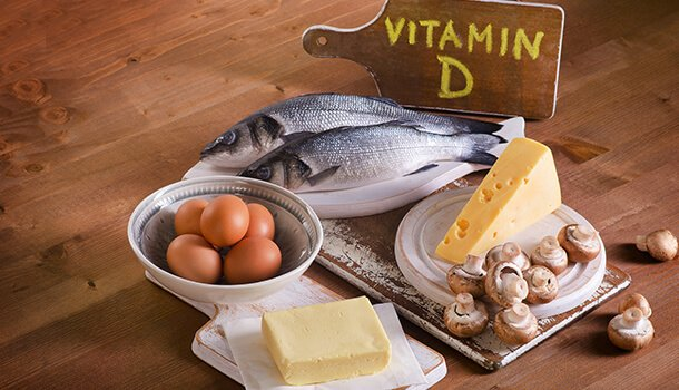 Consume Foods Rich In Vitamin D