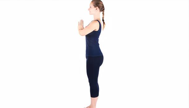 Prayer Pose (Pranamasana)