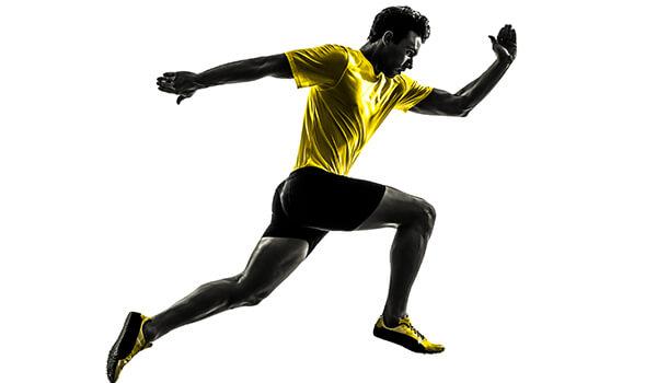 Sprint running