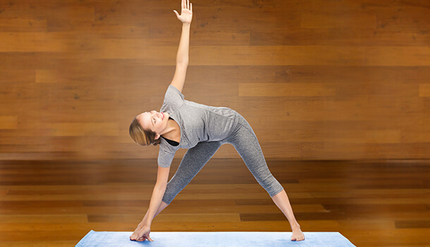 Trikonasana Or The Extended Triangle Pose